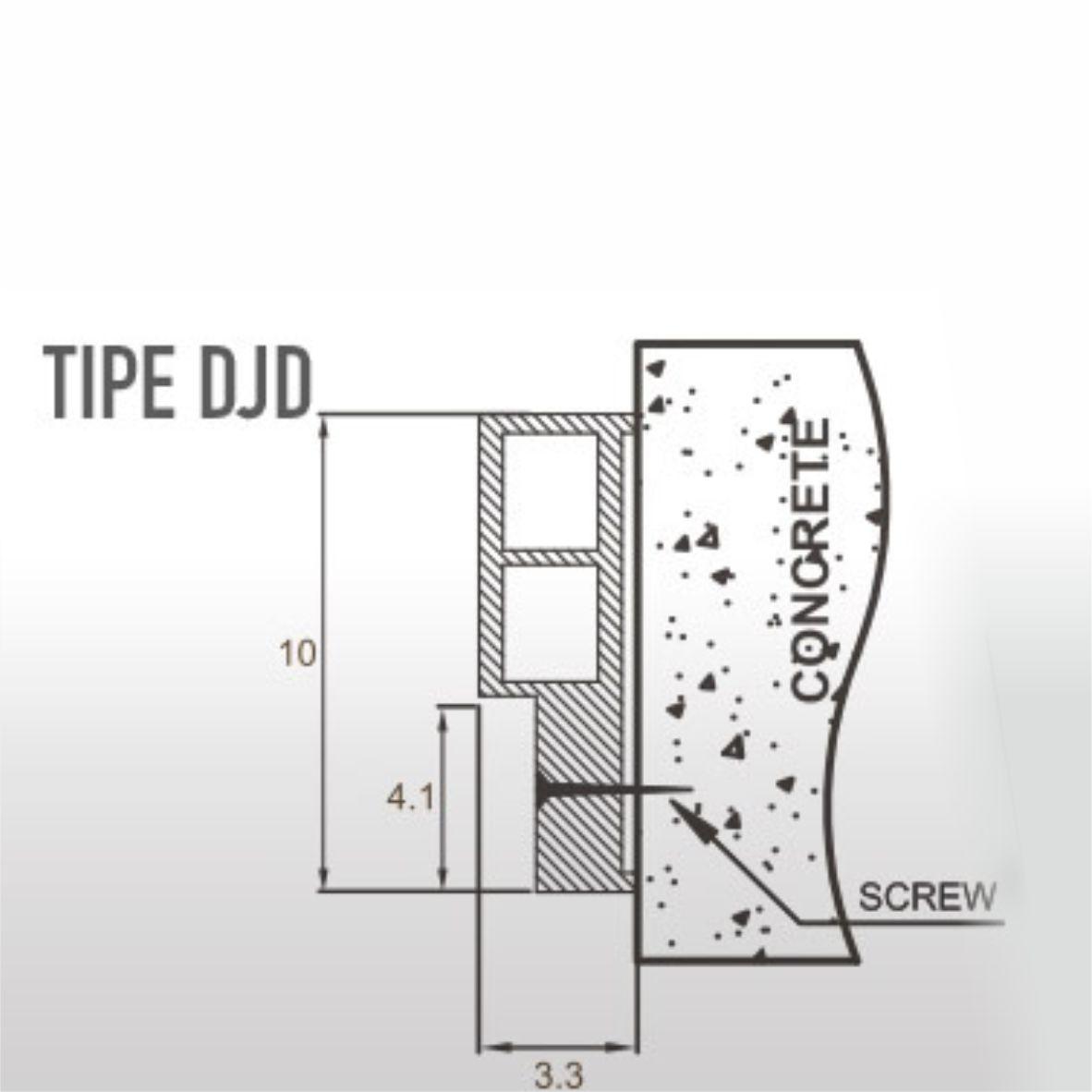 Angzdorr WPC Door Frame DJD