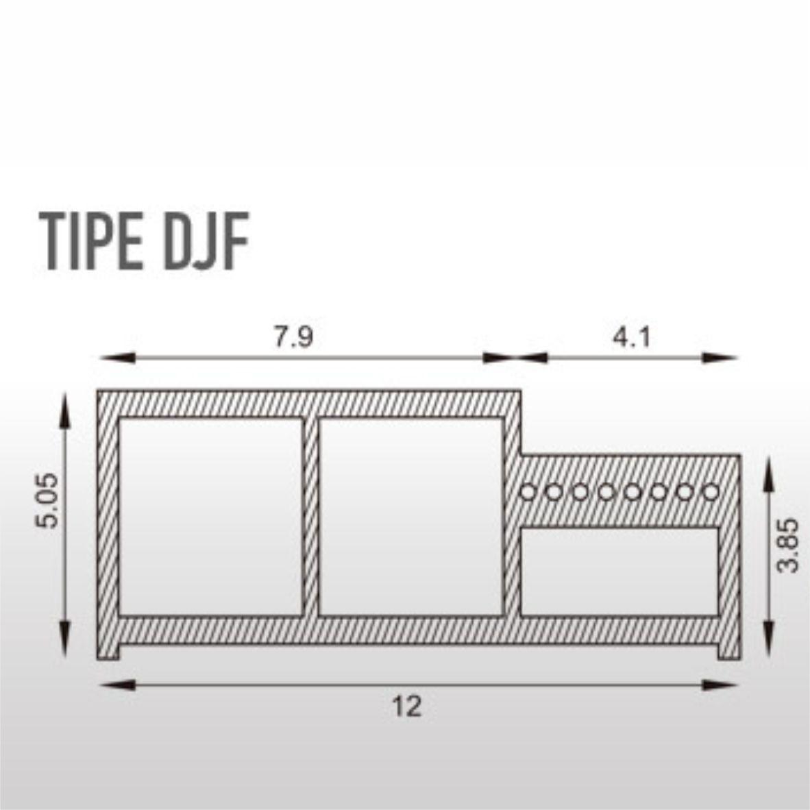 Angzdorr WPC Door Frame DJF