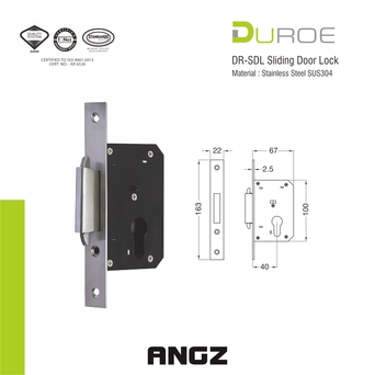 DR SDL Sliding Door Lock