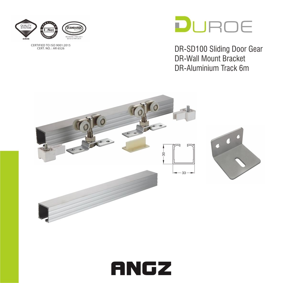 Sliding set DR-SD100 Door Gear
