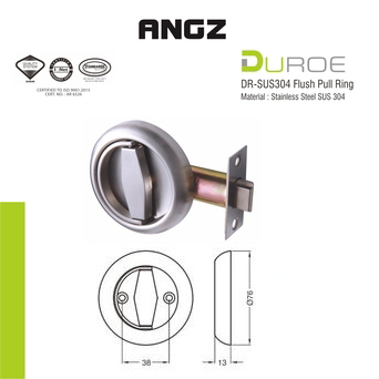 DR-SUS304 Flush Pull Ring